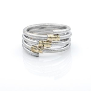 Ring zilver _ Helix 5